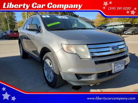 2008 Ford Edge for sale at Liberty Car Company in Waterloo IA