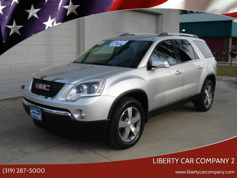 2011 GMC Acadia for sale at Liberty Car Company - II in Waterloo IA