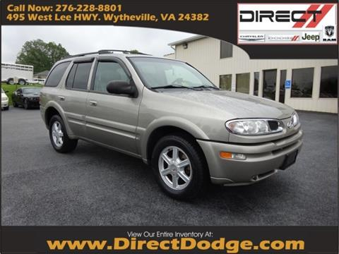 2002 Oldsmobile Bravada for sale in Wytheville, VA