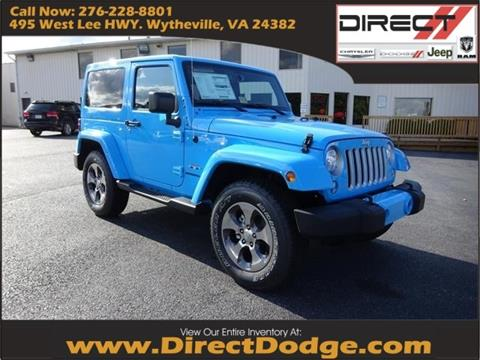 2017 Jeep Wrangler for sale in Wytheville, VA