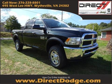 2018 RAM Ram Pickup 2500 for sale in Wytheville, VA