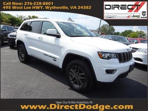 2017 Jeep Grand Cherokee for sale in Wytheville, VA