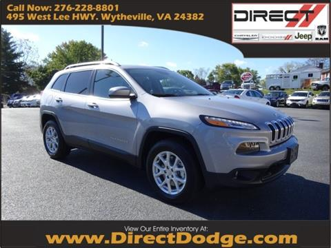 2018 Jeep Cherokee for sale in Wytheville, VA