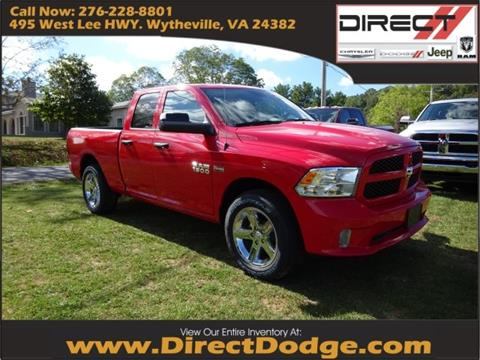 2018 RAM Ram Pickup 1500 for sale in Wytheville, VA