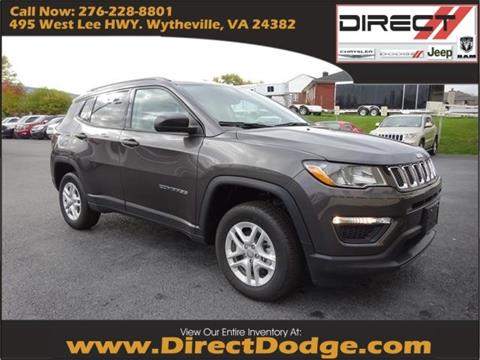 2018 Jeep Compass for sale in Wytheville, VA