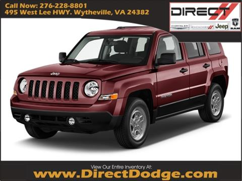 2017 Jeep Patriot for sale in Wytheville, VA
