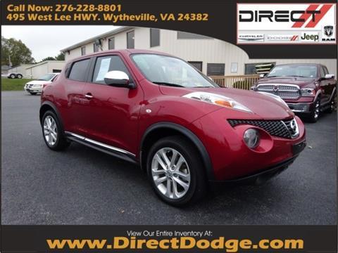 2013 Nissan JUKE for sale in Wytheville, VA