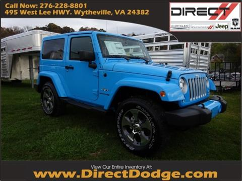 2018 Jeep Wrangler for sale in Wytheville, VA