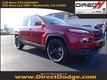 2017 Jeep Cherokee for sale in Wytheville, VA