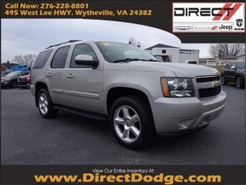 2008 Chevrolet Tahoe for sale in Wytheville, VA