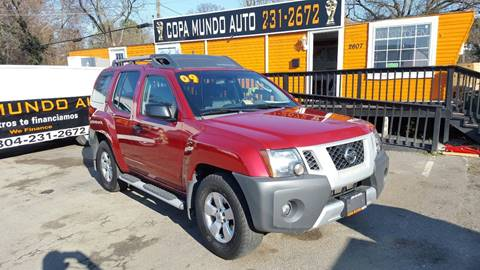2009 Nissan Xterra for sale at Copa Mundo Auto in Richmond VA