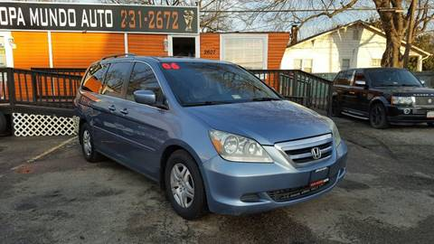 2006 Honda Odyssey for sale at Copa Mundo Auto in Richmond VA
