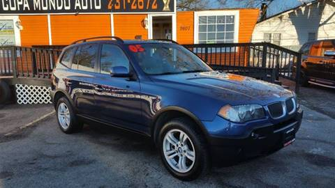 2005 BMW X3 for sale at Copa Mundo Auto in Richmond VA