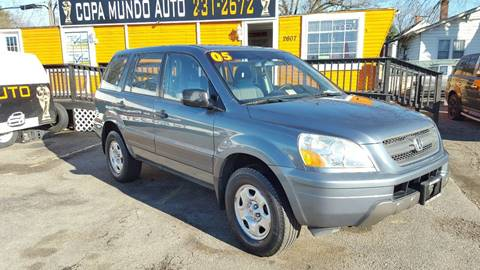 2005 Honda Pilot for sale at Copa Mundo Auto in Richmond VA