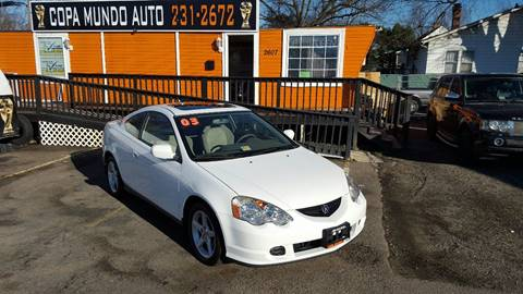 2003 Acura RSX for sale at Copa Mundo Auto in Richmond VA