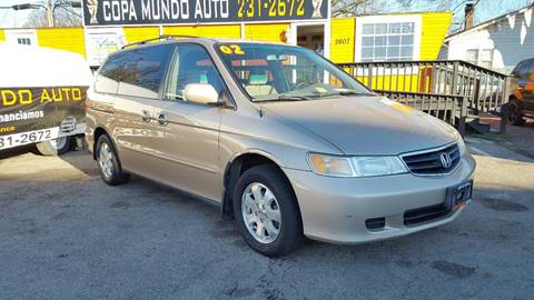 2002 Honda Odyssey for sale at Copa Mundo Auto in Richmond VA