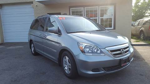 2007 Honda Odyssey for sale at Copa Mundo Auto in Richmond VA