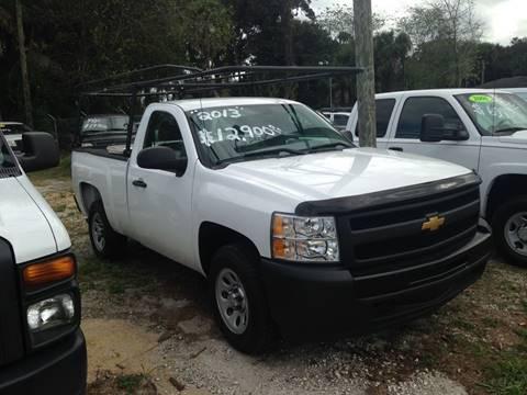 2013 Chevrolet Silverado 1500 for sale at Harbor Oaks Auto Sales in Port Orange FL