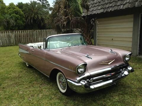 1957 Chevrolet Bel Air for sale at Harbor Oaks Auto Sales in Port Orange FL