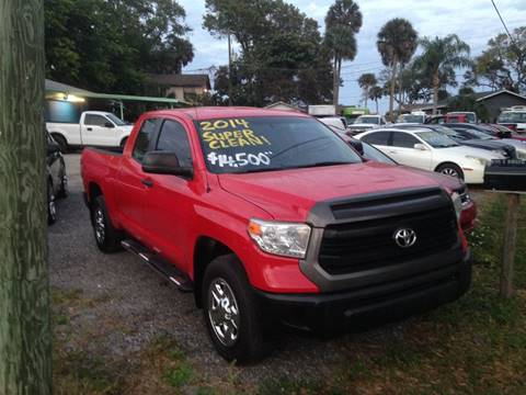 2014 Toyota Tundra SR for sale at Harbor Oaks Auto Sales in Port Orange FL