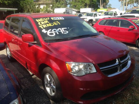 2013 Dodge Grand Caravan SXT for sale at Harbor Oaks Auto Sales in Port Orange FL