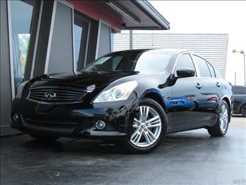 2011 Infiniti G25 Sedan for sale in Tampa, FL