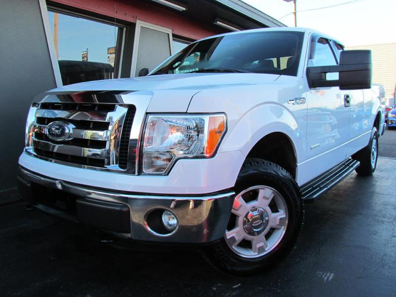 Ford F-150 2012 XL 4x4 4dr SuperCab Styleside 8 ft. LB