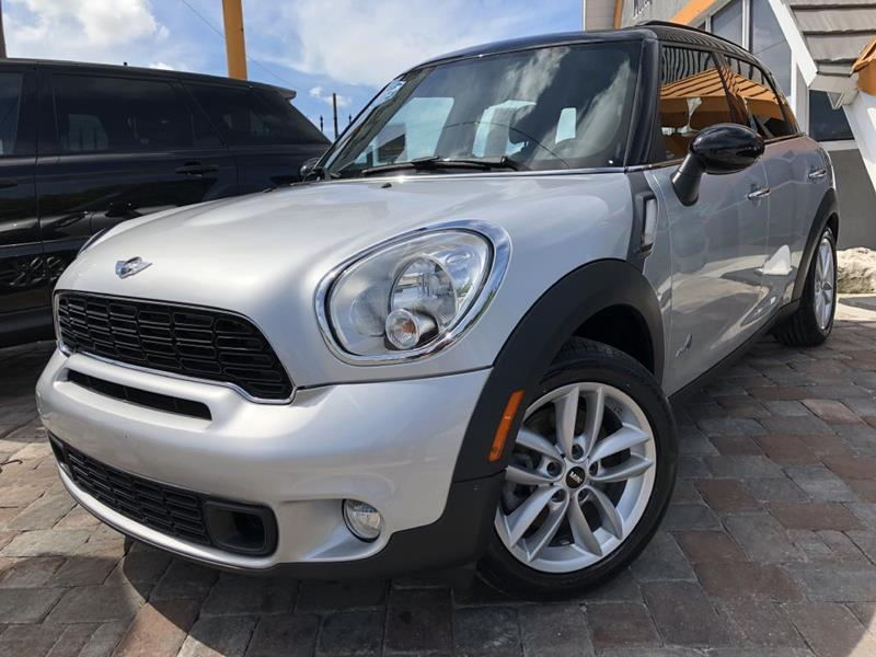 MINI Cooper Countryman 2012 S ALL4 AWD 4dr Crossover