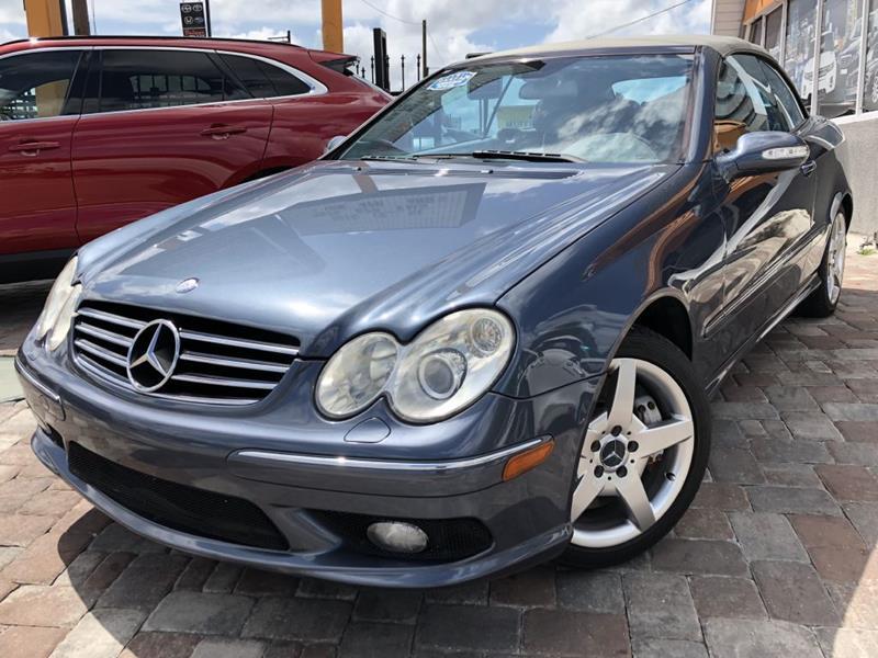Mercedes-Benz CLK 2005 CLK 500 2dr Cabriolet