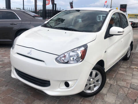 2015 Mitsubishi Mirage for sale at Unique Motors of Tampa in Tampa FL