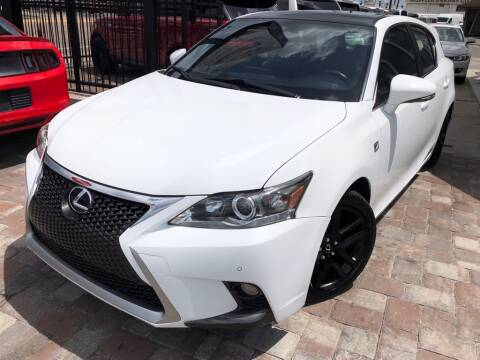 2015 Lexus CT 200h for sale at Unique Motors of Tampa in Tampa FL