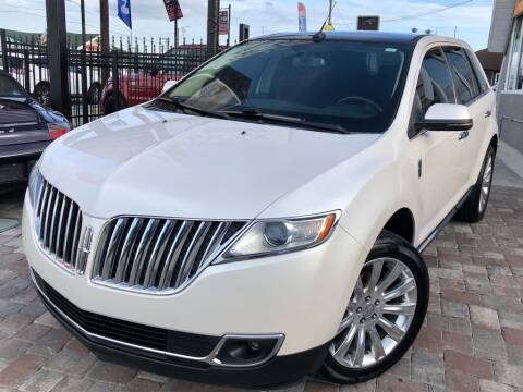 2013 Lincoln MKX for sale at Unique Motors of Tampa in Tampa FL
