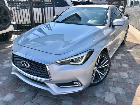 2018 Infiniti Q60 for sale at Unique Motors of Tampa in Tampa FL