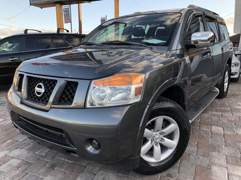 2012 Nissan Armada for sale at Unique Motors of Tampa in Tampa FL
