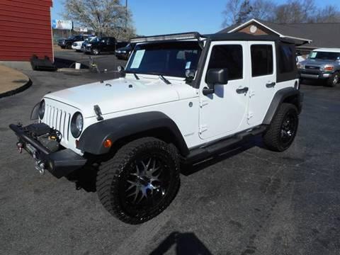 2012 Jeep Wrangler Unlimited for sale in Acworth, GA
