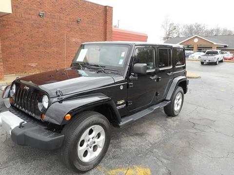 2013 Jeep Wrangler Unlimited for sale in Acworth, GA