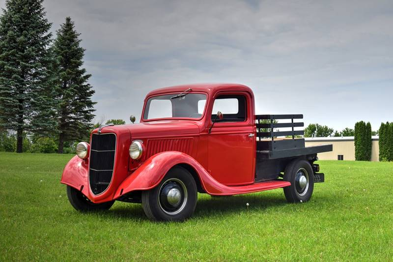 1936 Ford F-100 for sale at Hooked On Classics in Watertown MN