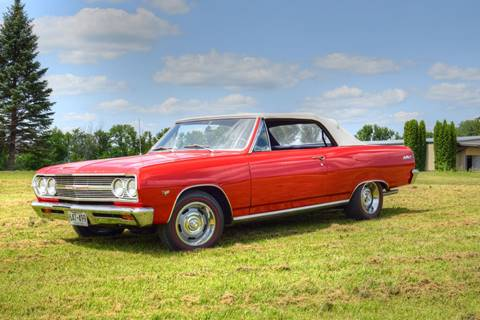 1965 Chevrolet Chevelle for sale at Hooked On Classics in Watertown MN