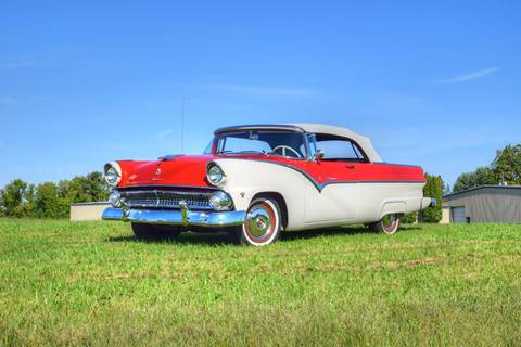 1955 Ford Sunliner for sale at Hooked On Classics in Watertown MN