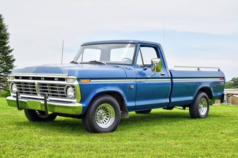 1974 ford f 150 in watertown mn hooked on classics. Black Bedroom Furniture Sets. Home Design Ideas