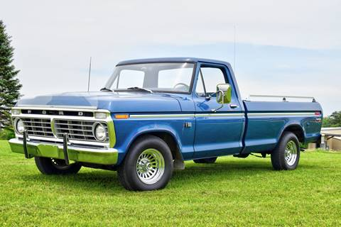 1974 Ford F-150 for sale at Hooked On Classics in Watertown MN