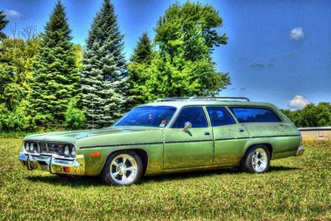 1974 Plymouth 4 Door