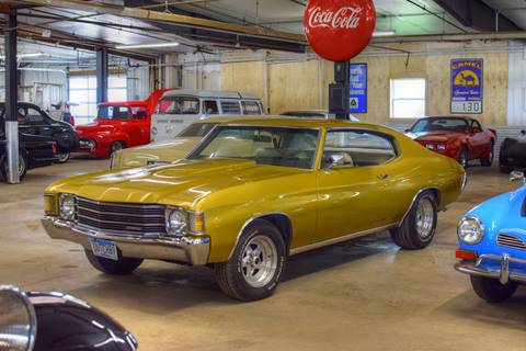 1972 Chevrolet Chevelle Malibu for sale at Hooked On Classics in Watertown MN