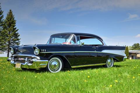1957 Chevrolet Bel Air for sale at Hooked On Classics in Watertown MN