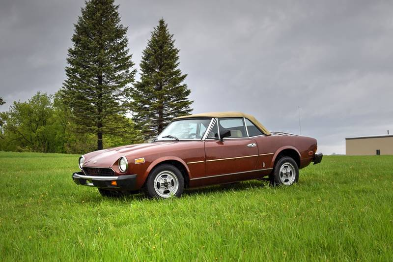 1981 FIAT 2000 for sale at Hooked On Classics in Watertown MN