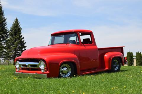 1956 Ford F-100 for sale at Hooked On Classics in Watertown MN