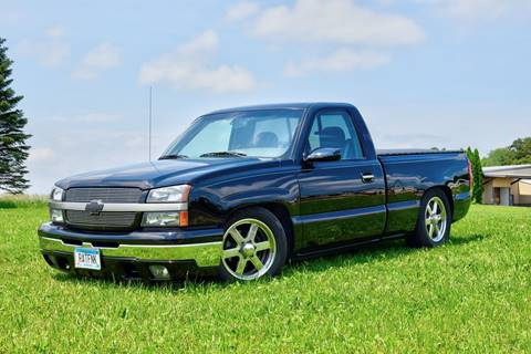 2004 Chevrolet Silverado 1500 for sale at Hooked On Classics in Watertown MN