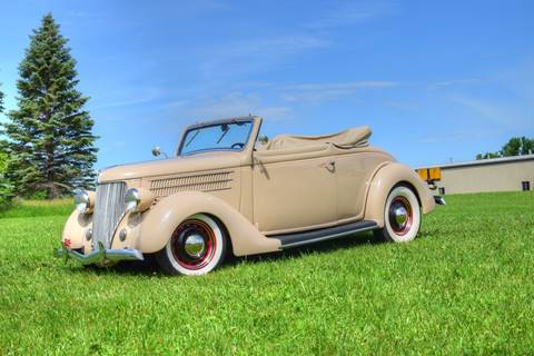 1936 Ford Cabriolet  for sale at Hooked On Classics in Watertown MN