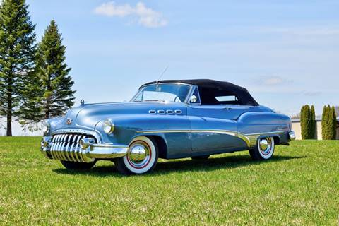 1950 Buick Roadmaster for sale at Hooked On Classics in Watertown MN