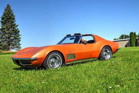 1972 Chevrolet Corvette for sale at Hooked On Classics in Watertown MN